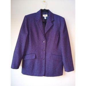 Talbot's 100% Wool Blazer